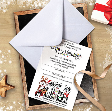 Image of Holiday Donation Cards