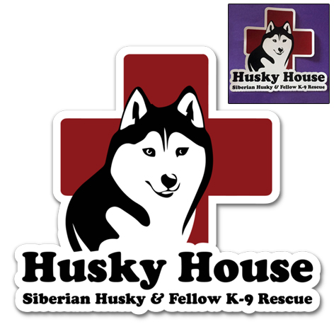 Image of Husky House Logo Magnets