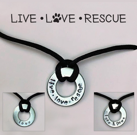 Image of Live Love Rescue Necklaces